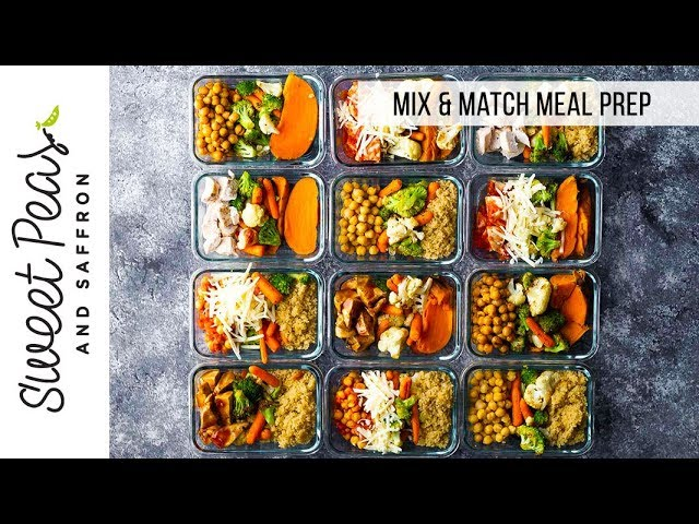 FORMULA: 12 Different Meal Prep Bowls in 1 Hour ????