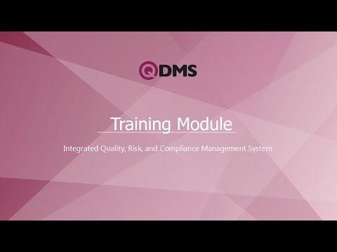 QDMS : Training Management Module - YouTube