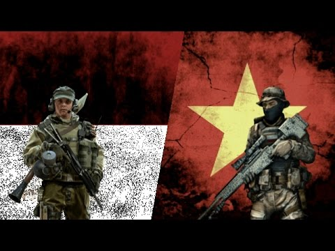 INDONESIA VS VIETNAM - Military Power Comparison 2017