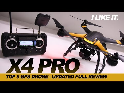 I LIKE IT  – HUBSAN X4 PRO H109s Drone, Review – GOPRO COMPATIBLE Drone UPDATED