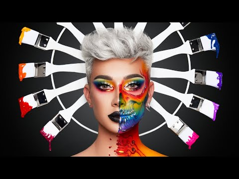 body painting choose my pallete color by james charles