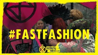 Extinction Rebellion ⌛ Fashion Action (Circus of Excess)  (Oxford Circus 2019)