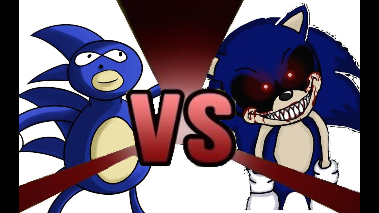 Download Youtube to mp3: SANIC vs SONIC EXE Cartoon Fight Club Episode 9