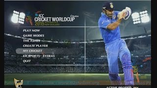 EA CRICKET -ICC WORLDCUP 2015 CRICKET GAME||FULL HD GAME PLAY