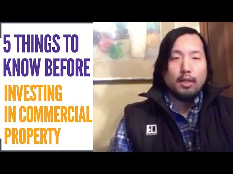 5 Things to Know Before Investing In a Commercial Property (Real Estate Agent Tips)