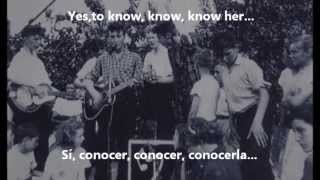 The Beatles - To Know Her Is To Love Her (Subtitulada Inglés/Español)