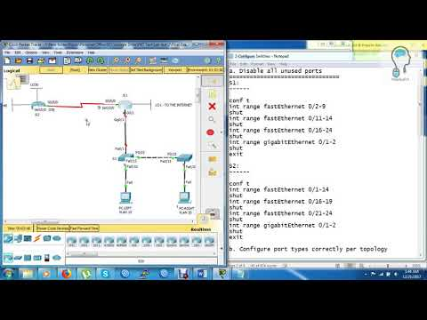 CCNA (R&S) lab test - Final Exam Packet Tracer - YouTube