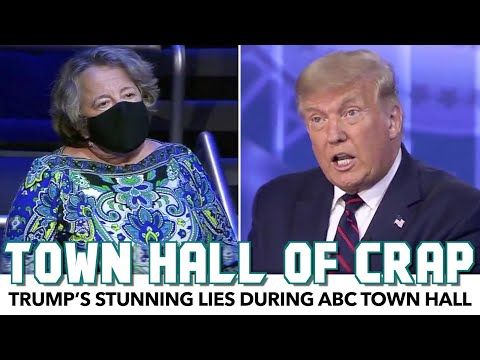 Trump's STUNNING Lies During ABC Town Hall