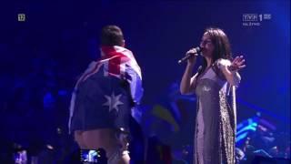 Евровидение-2017 Джамала срыв песни. Голый мужик на сцене