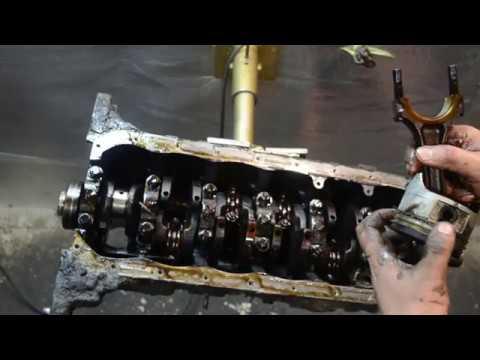 Разбор двигателя 1G-FE
