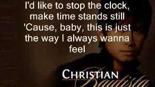 The way you look at me by Christian Bautista LYRICS