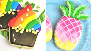 COLORFUL DECORATED COOKIES |Compilation|