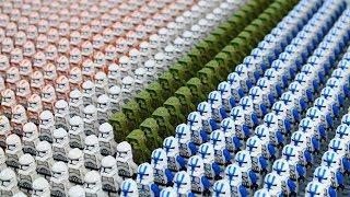 HUGE LEGO Star Wars Clone Army | 650+ Minifigures! | (2019)
