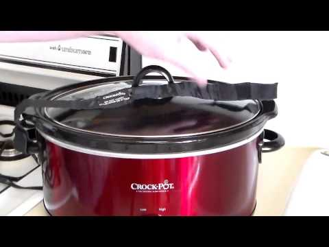, Crock-Pot SCCPVL600S Cook' N Carry 6-Quart Oval Manual Portable Slow Cooker, Stainless Steel