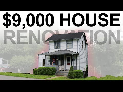$9,000 HOUSE - HUGE DIY RENOVATION - #11