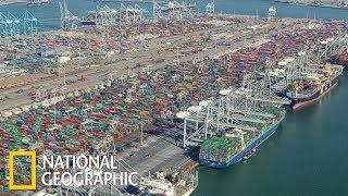 Суперсооружения: Порт Роттердам