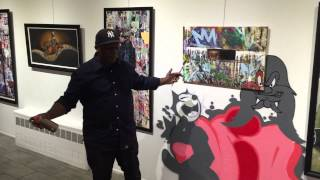 Frank Morrison - Invites Guests To Opening Reception For GRAFFITI