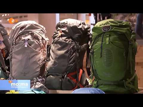 ZDF Morgenmagazin Service: Kauf- und Packtipps für den richtigen Wanderrucksack