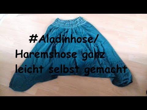 GANZ EINFACH ALADINHOSE/HAREMSHOSE SELBER NÄHEN