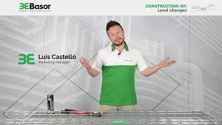 Construction of a change level with basket trays Basorfil