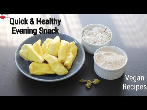 Quick & Healthy Evening Snacks – Easy Vegan Recipes | Skinny Recipes