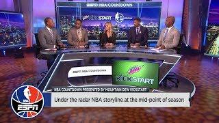Under the radar NBA storyline at the mid-point of season | NBA Countdown | ESPN