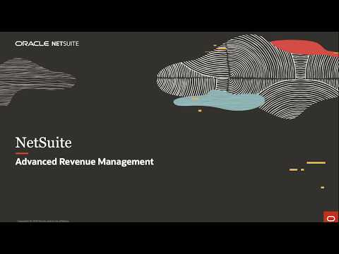 NetSuite Advanced Revenue Management - YouTube