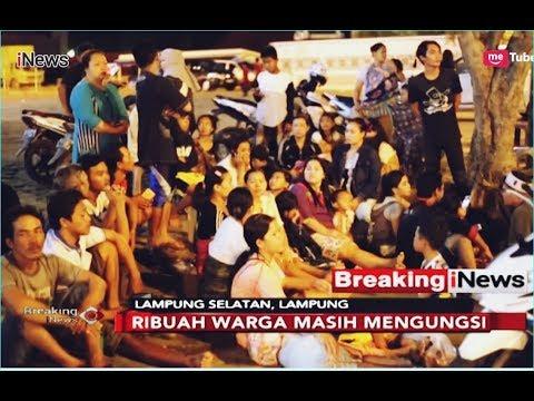 Kondisi Lampung Selatan Pasca Tsunami, Ribuan Warga Mengungsi - Breaking iNews 23/12