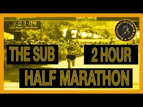 How Fast Do You Have To Run for a Sub 2 Hour Half Marathon ...