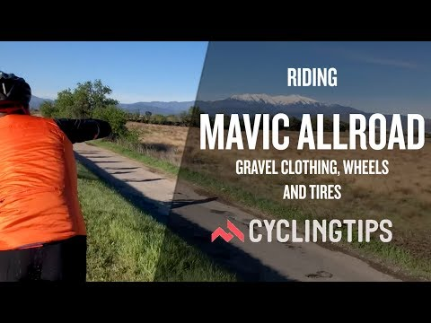 Riding Mavic's new Allroad gravel gear