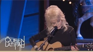 Dolly Parton Performs Live on The Queen Latifah Show