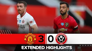 Manchester United 3-0 Sheffield United | Extended Premier League highlights