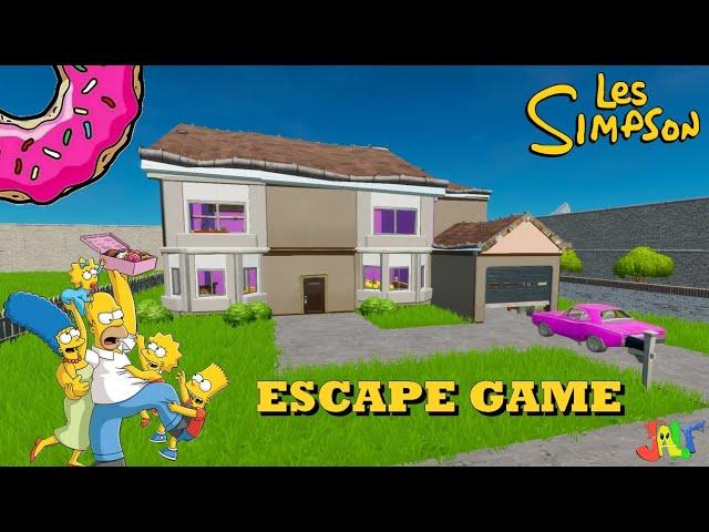 ESCAPE GAME - SIMPSON