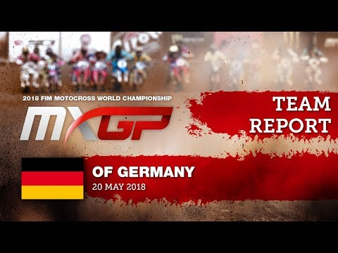 Team Report KTM Sarholz Racing Team MXGP of Germany 2018 #motocross