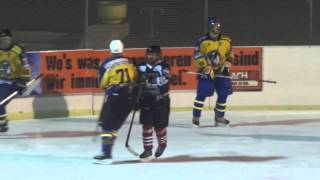 preview picture of video 'Spiel um Platz 5: UEC Mödling - EHC Südtirol'