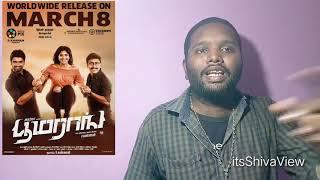 Boomerang Movie Review by Shiva   Atharva   Megha Akash   RJ Balaji   Sathish   R Kannan