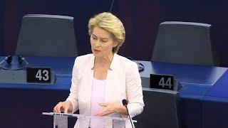 Germany's Ursula von der Leyen voted first female European Commission President