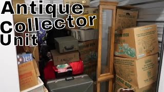 I Bought An Abandon ANTIQUE Storage Unit.. Paid on for 19 Years!!