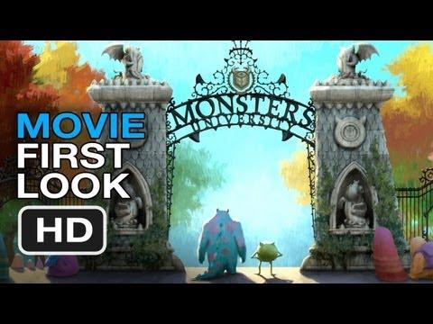Monsters University (Interview + Clip)