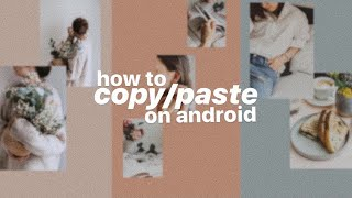 how to copy/paste images to your instagram story for ANDROID USERS ✨