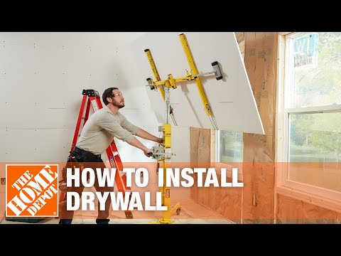 How To Hang Drywall Drywall Installation Ann Colone