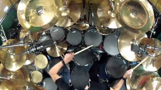 Anthrax- Caught In A Mosh. Drum cover by Kevan Roy