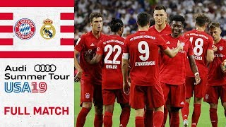 Full Match | FC Bayern vs. Real Madrid 3-1 | International Champions Cup 2019