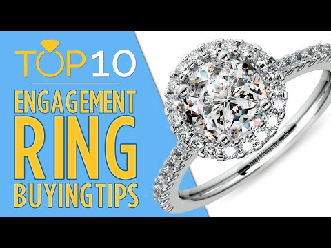 Top 10 Tips for Buying an Engagement Ring