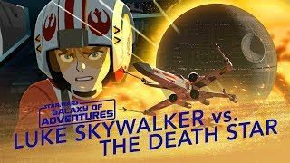 Episode 1.08 Luke contre l'Etoile de la Mort, assaut X-wing (VO)