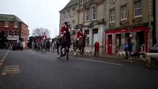 preview picture of video 'The Cottesmore Hunt Oakham Rutland Cutts Close Boxing Day 2014 Video'