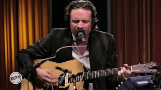 """Father John Misty performing """"Ballad Of The Dying Man"""" Live on Morning Becomes Eclectic"""