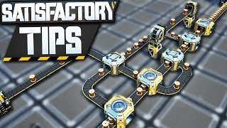 Load Balancer Tips for an Efficient Factory! - Satisfactory Tips (Beginner + Advanced)