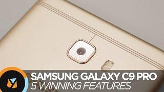 5 Winning Features of Samsung Galaxy C9 Pro