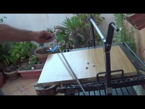 Como hacer un soporte para platos en la barbacoa